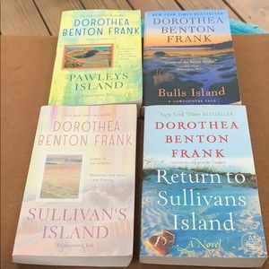 Set of 4 Dorothea Benton Frank soft cover novels